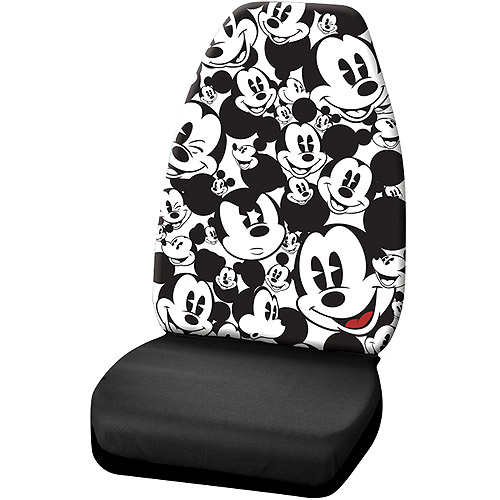 Disney Seat Cover (1) Mickey Mouse Expressions