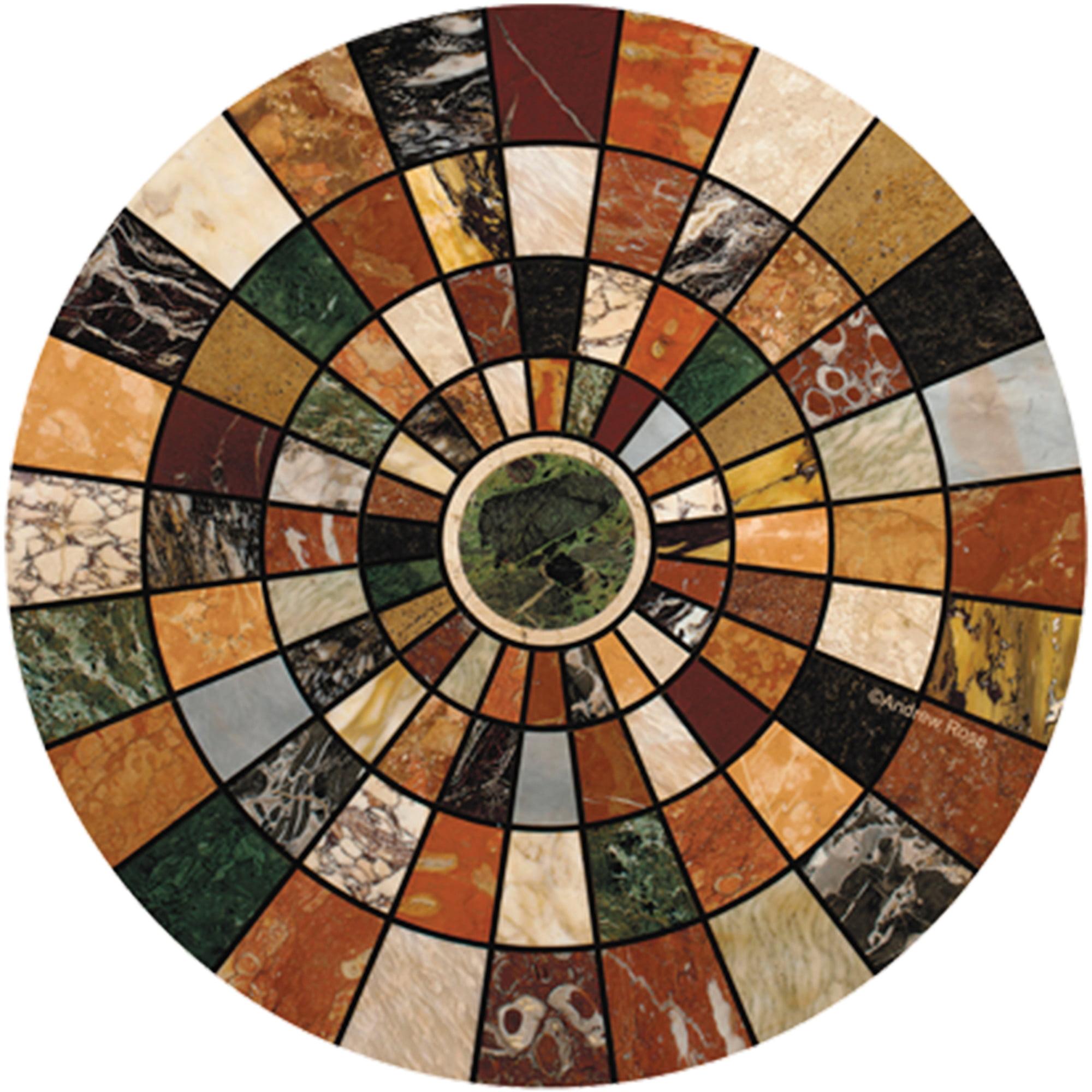 Thirstystone Drink Coasters Set, Marble Mosaic