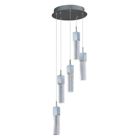 ET2 Fizz III E22765 5-Light LED Pendant Polished