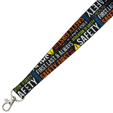 Pinmarts Full Color Corporate Safety Lanyard W  Safety Release