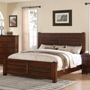 Picket House Furnishings Danner King Bed in Chestnut