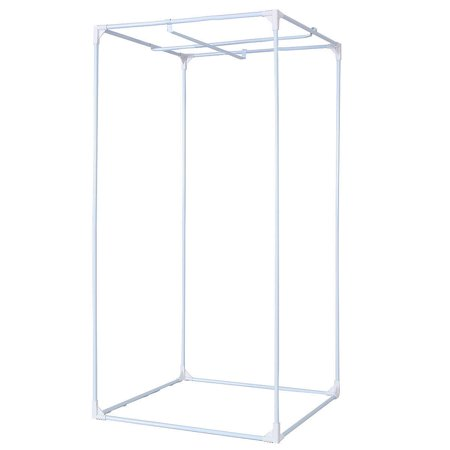 Costway Indoor Grow Tent Room Reflective Hydroponic Non Toxic Clone Hut 6 Size (32''X32''X63'') - image 1 of 8
