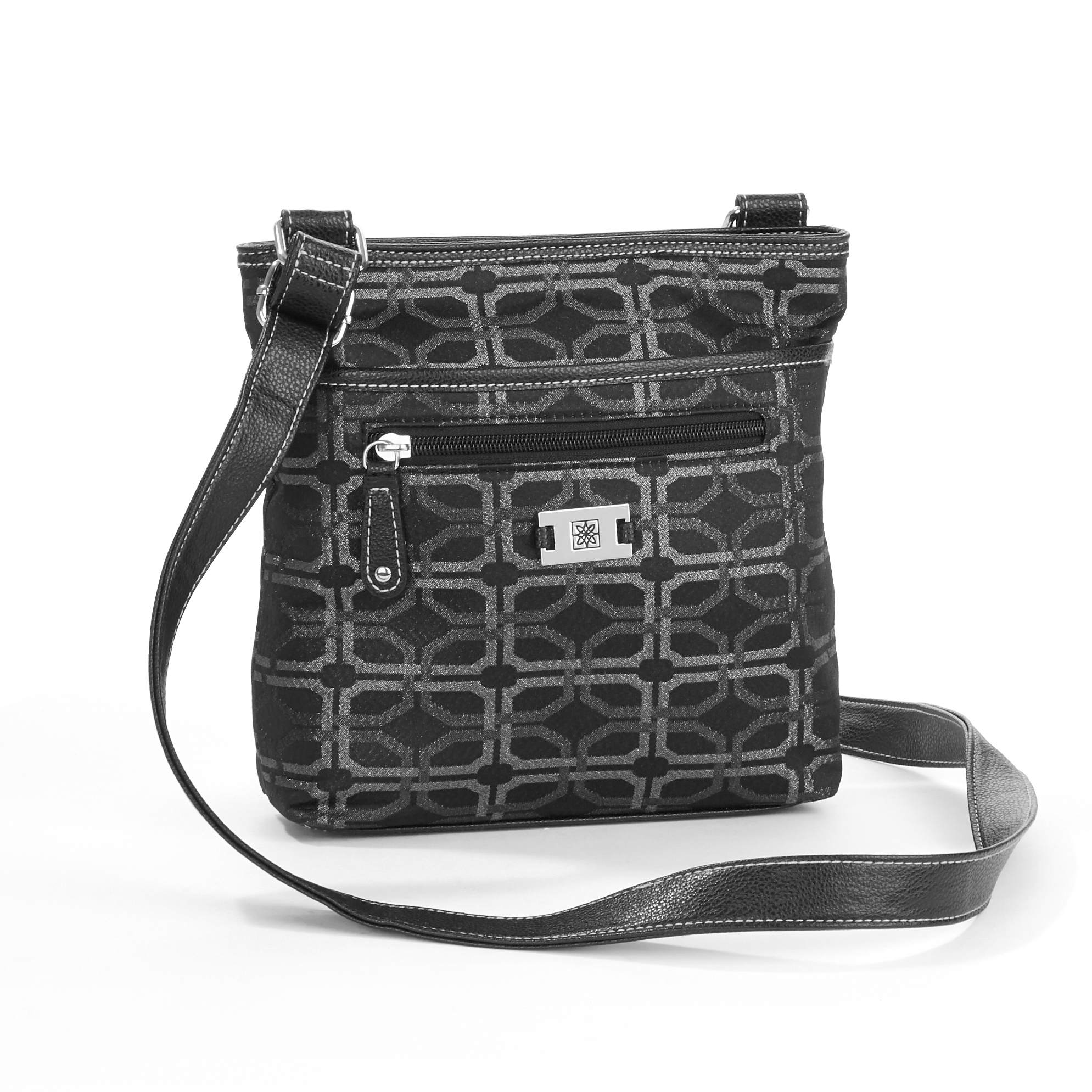 George Jacquard NS Crossbody Handbag