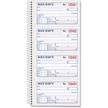 TOPS MoneyRent Receipt Book Walmart – Where Can I Buy Rent Receipts