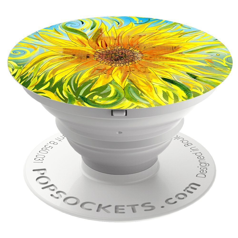Cp Popsocket Phone Grip & Stand - Sunflower - Accessory by PopSockets (101221)