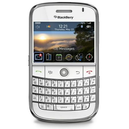 Blackberry Bold 9000 Unlocked GSM Phone w/ 2MP Camera - White (Certified Refurbished) Phone Models Blackberry