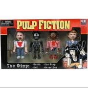 NECA Pulp Fiction Geomes The Gimp Mini Figure 4-Pack