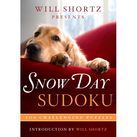 Will Shortz Presents Snow Day Sudoku : 200 Challenging Puzzles](31 Days Of Halloween Challenge)