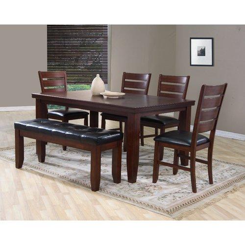 Winston Porter Oppenheimer Solid Wood Dining Table