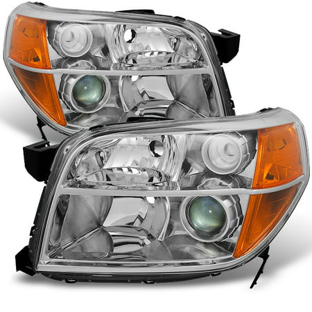 Fit 06 07 08 Honda Pilot Headlights Driver+Passenger side Replacement 2006-2008