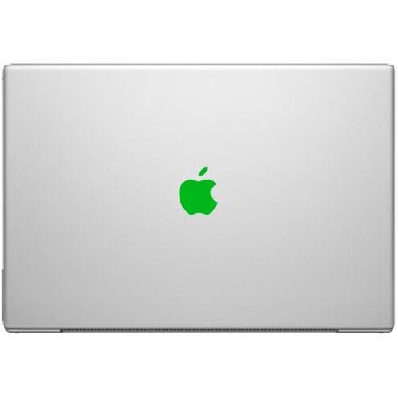 Green Color Change Apple Overlay Decal Sticker - Vinyl Decal for