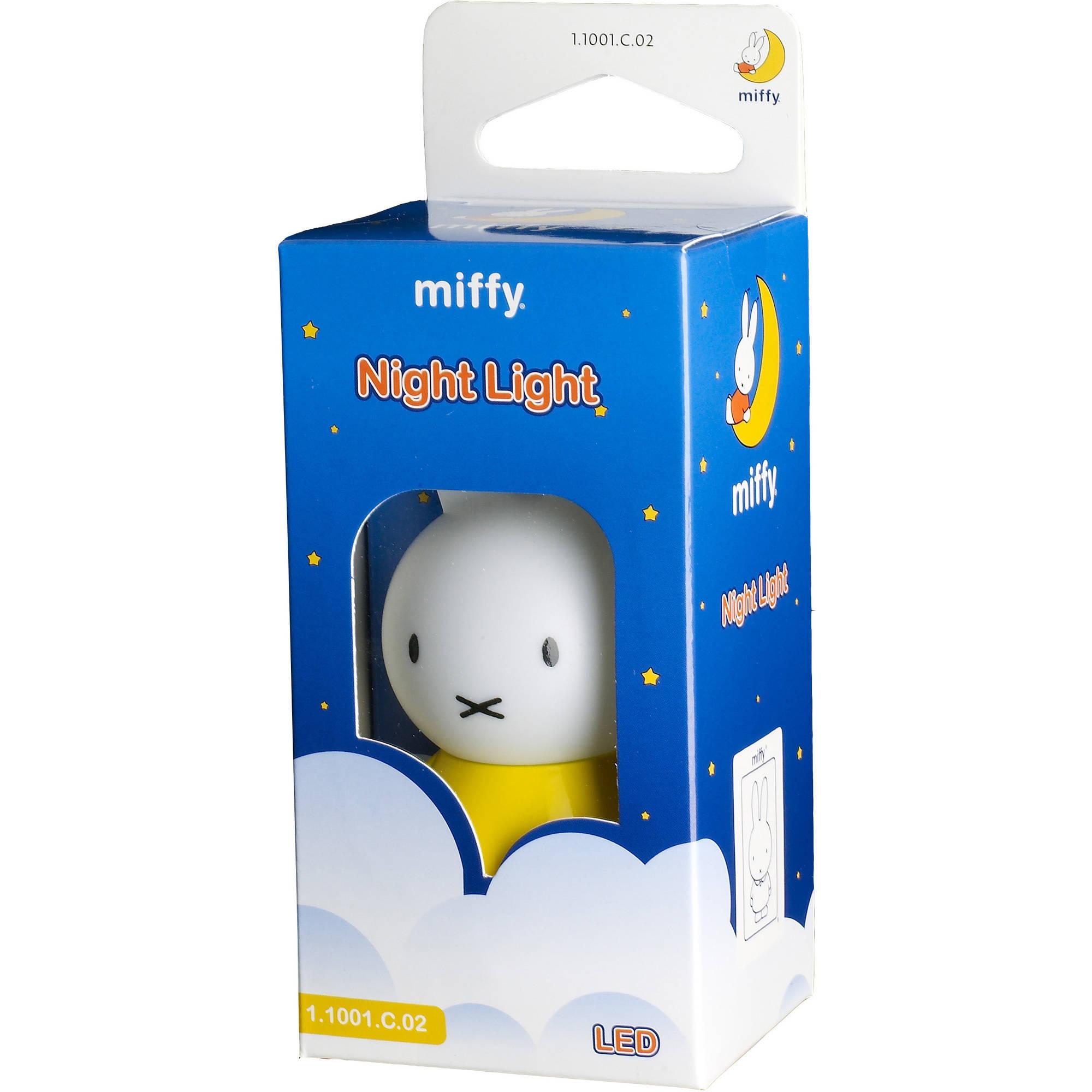 Miffy Mini Miffy Night Light, Yellow