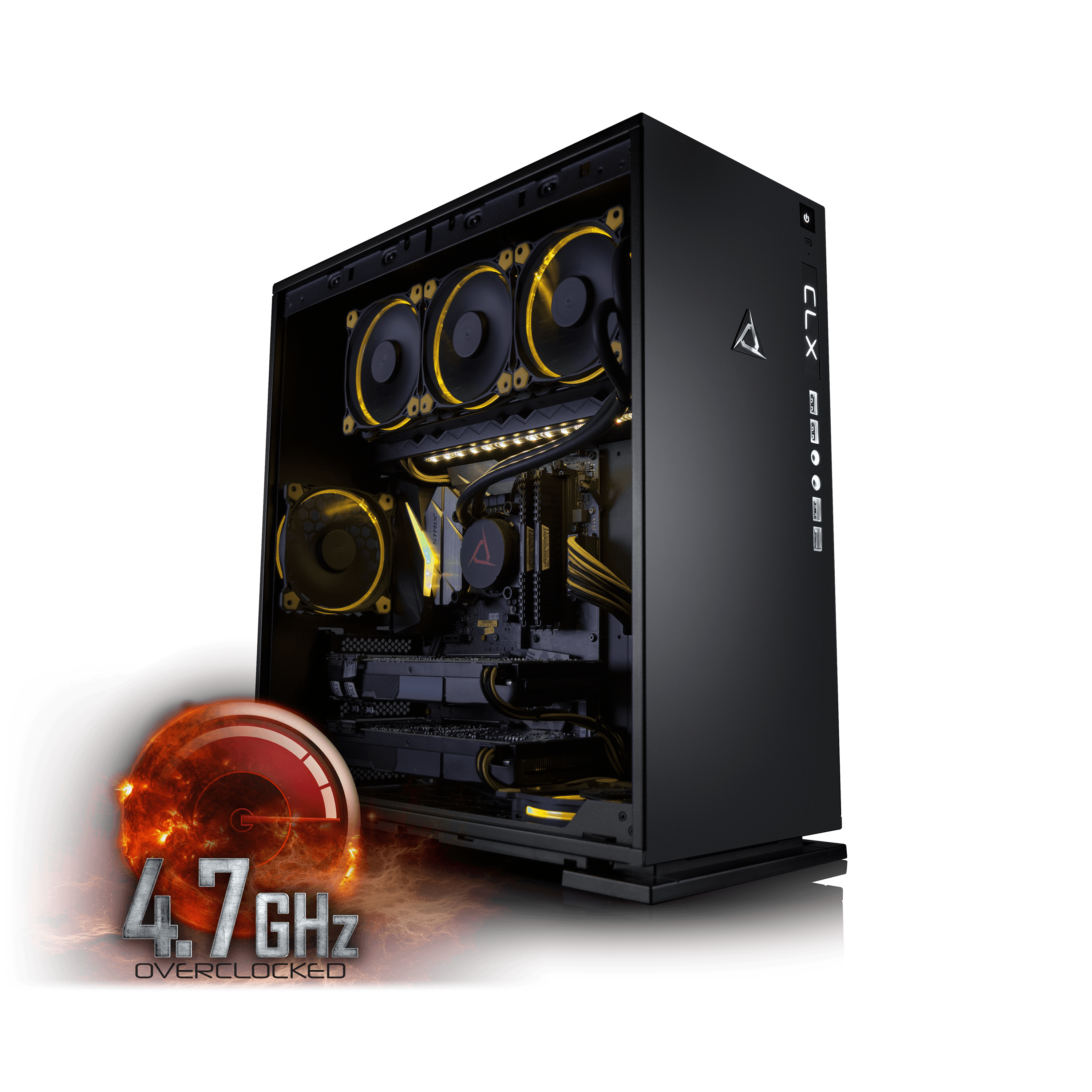 Click here to buy CybertronPC CLX Set High Performance Gaming PC Tripple-Liquid Cooled Z270 Asus Motherboard Intel i5 7600K 4.7GHz(OC)... by CybertronPC.