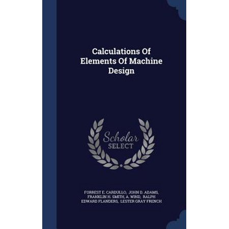 Calculations of Elements of Machine Design