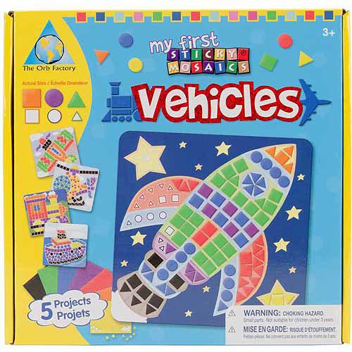My First Sticky Mosaics Kit, Vehicle