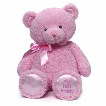 Gund My First Teddy Bear Stuffed Animal, 18 inches by Gund Baby