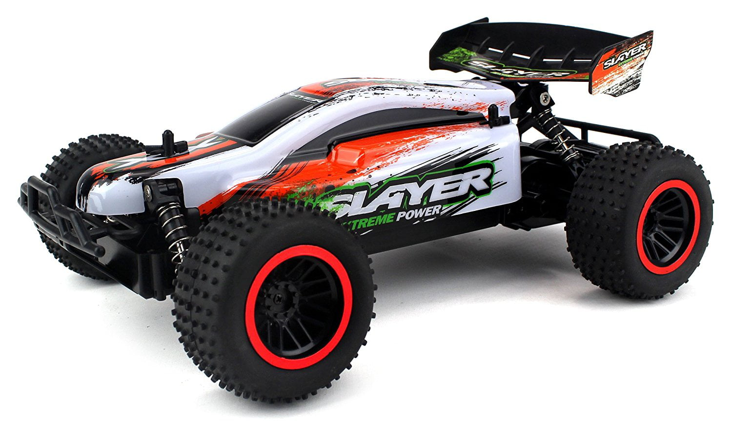 Baja Slayer Remote Control RC Buggy Car 2.4 GHz PRO System 1:12 Scale Size RTR w  Working Suspension, Spring... by Velocity Toys