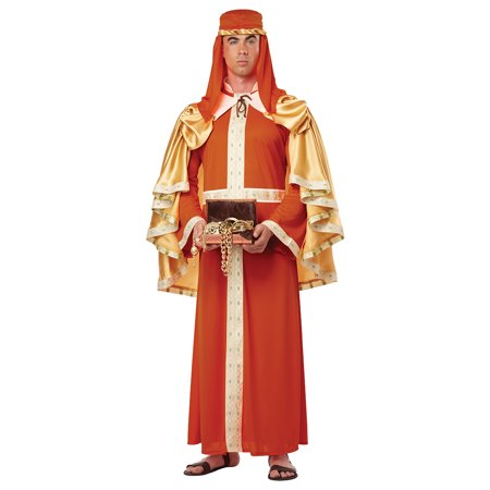 King Costume For Adults (Adult Three Kings Gaspar of India Costume by California Costumes)