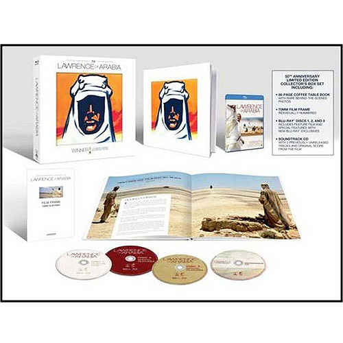 Lawrence Of Arabia (3-Disc Blu-ray   Music CD) (Widescreen)