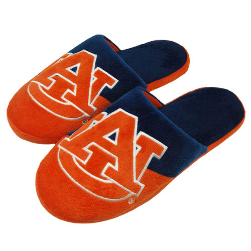 Men's Auburn Tigers Colorblock Slide Slippers