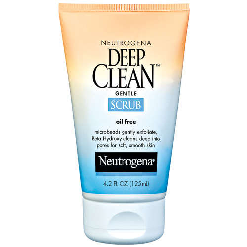 Neutrogena(R) Gentle Scrub Oil Free Deep Clean(R) 4.2 Fl Oz