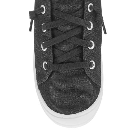 Women's Time And Tru Scrunch Back Canvas Shoe