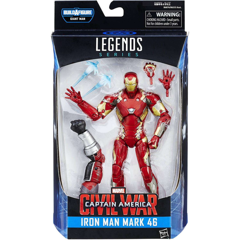 "Marvel 6"" Legends Series Iron Man Mark 46 Figure Walmart"