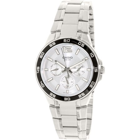 Casio Men's Core MTP1300D-7A1V Silver Stainless-Steel Quartz Watch
