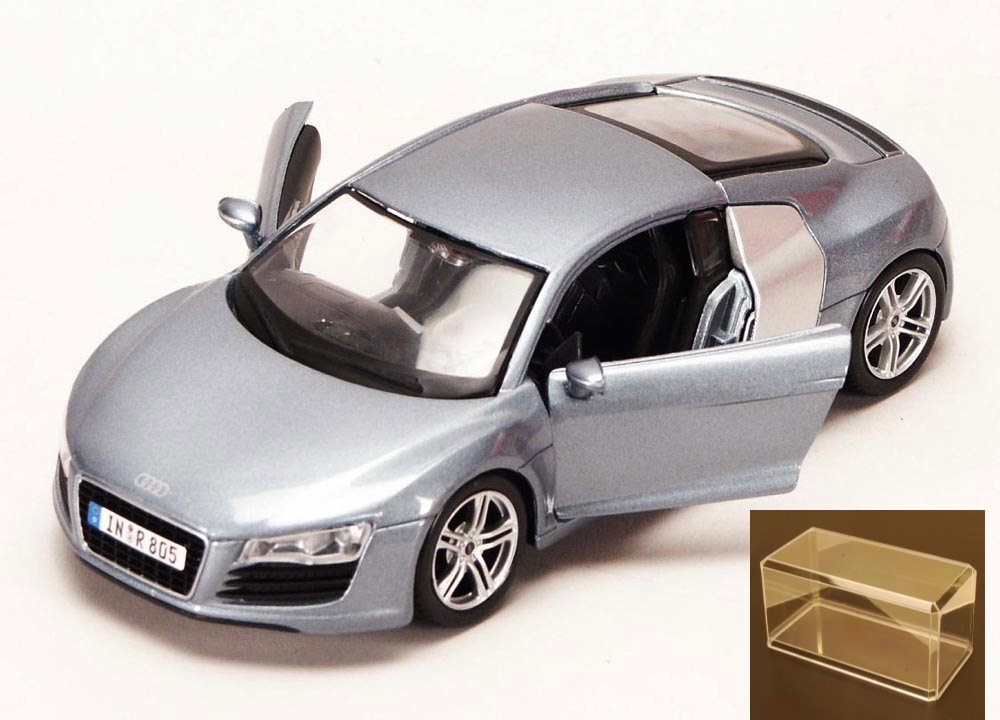 Diecast Car & Accessory Package Audi R8, Metallic Blue Maisto 34281 1 24 Scale Diecast... by Maisto