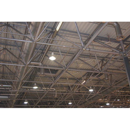 Laminated Poster Scaffold Architecture Steel Hall Steel Structure Poster Print 24 X 36