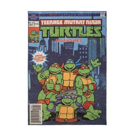 Ninja Turtle Baby Stuff (Teenage Mutant Ninja Turtle Comic Cover Rug,)