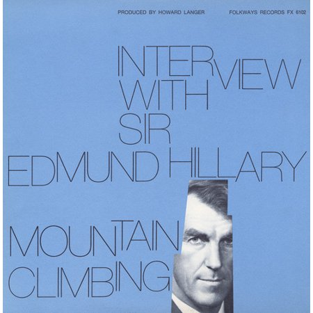 Interview With Sir Edmund Hillary  Mountain Climbi