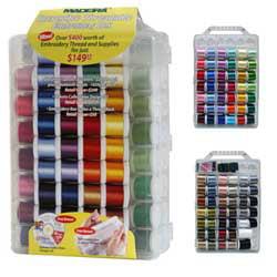 Madeira Incredible Threadable 82 Spools Embroidery Designs & more! Incredible Threadable Box