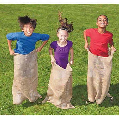 Sacks For Sack Races (Burlap Potato Sacks, Pack of)