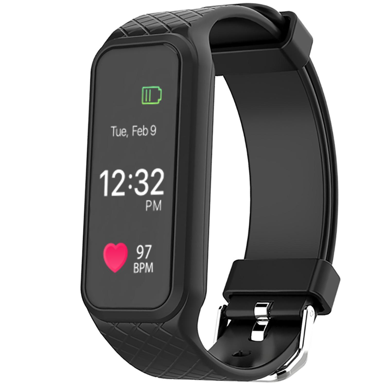 AGPtek Fitness Tracker L38i IP67 Rainproof Smart Wristband for Android IOS Samsung LG HTC iPhone