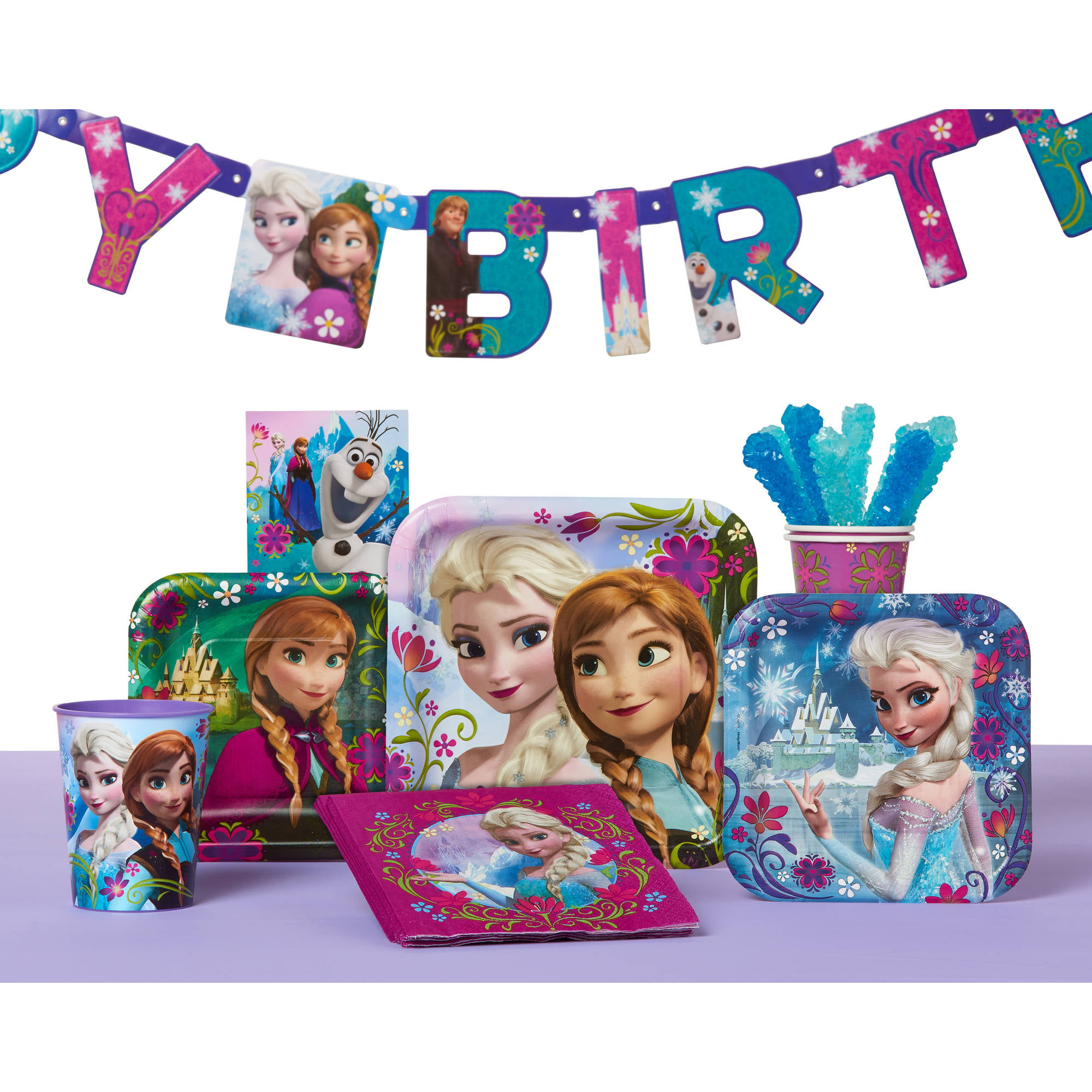 Frozen Party Favor Treat Bags 8ct