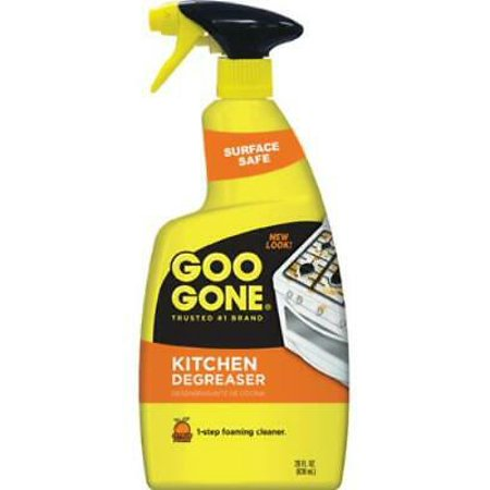 2 PK Weiman Goo Gone 28 OZ Kitchen Degreaser Trigger Cuts Grime