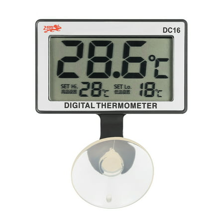 LCD Digital Fish Tank Aquarium Thermometer Submersible Water Temperature Meter 0°C~50°C High/Low Temperature (Best Aquarium Thermometer Reviews)