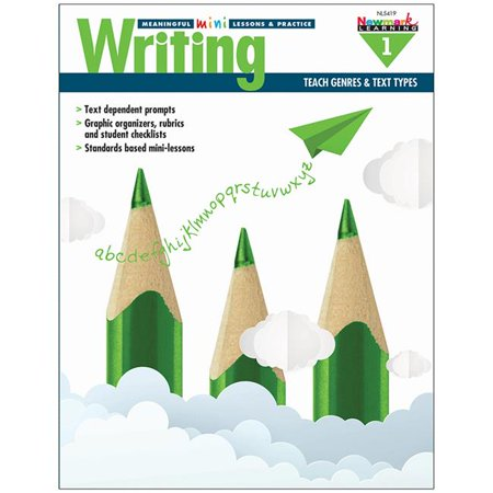 Newmark Learning NL-5419 Writng Grade 1 Mini Lessons & Practice](Learning Express Miami)