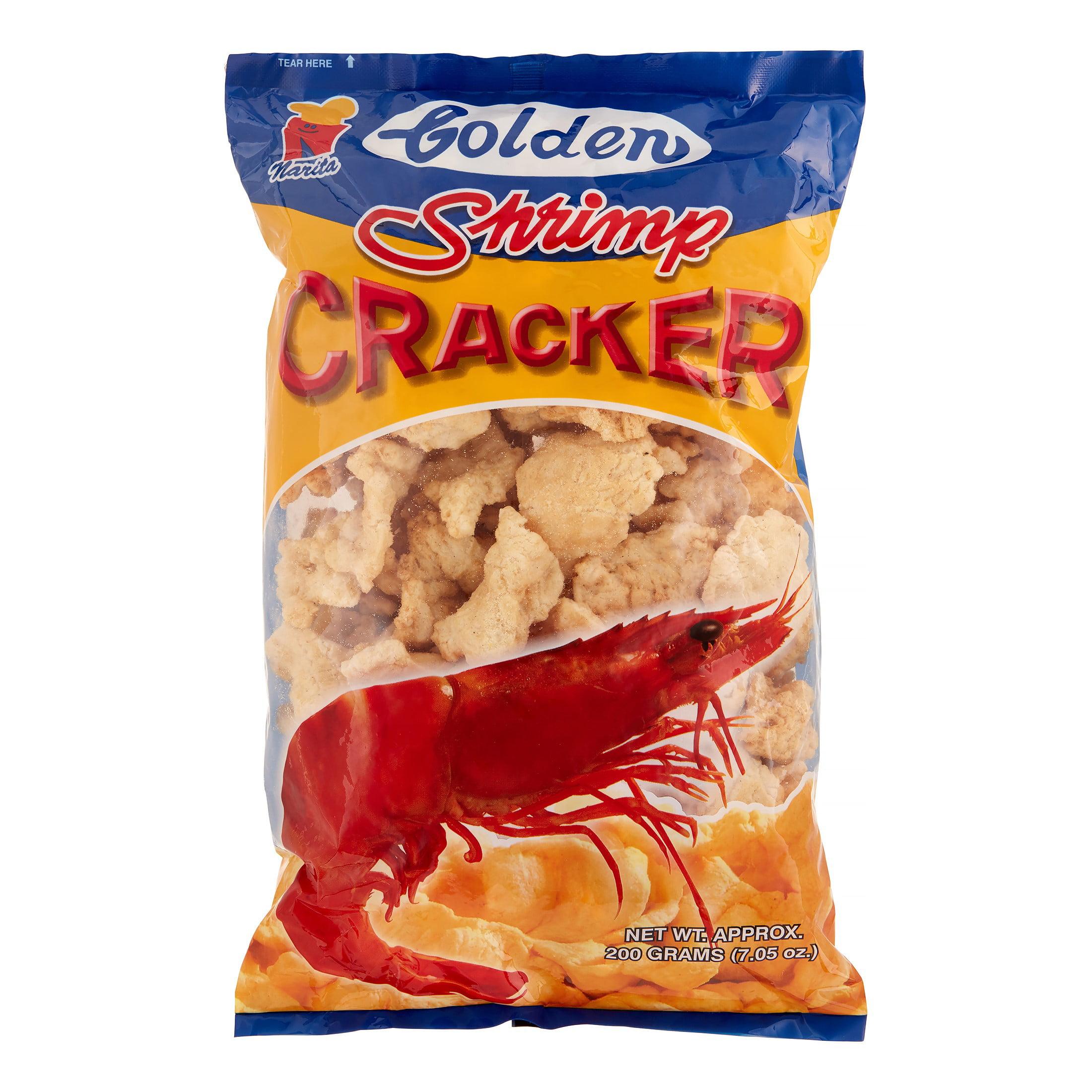 Golden Shrimp Cracker, 200 Gram by Golden