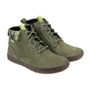 Cushe Method Mens Green Suede Casual Dress Lace Up Chukkas Shoes