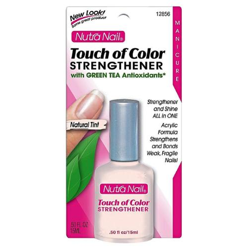 Nutra Nail Touch of Color Strengthener, Natural Tint 0.50 oz (Pack of 2)