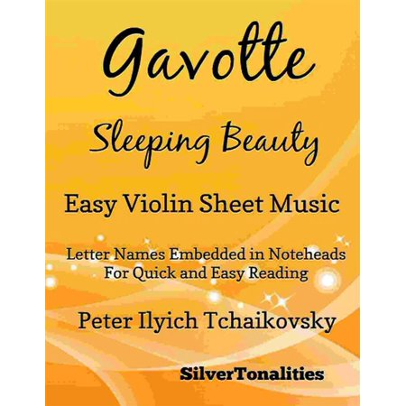 Gavotte Sleeping Beauty Easy Violin Sheet Music - eBook