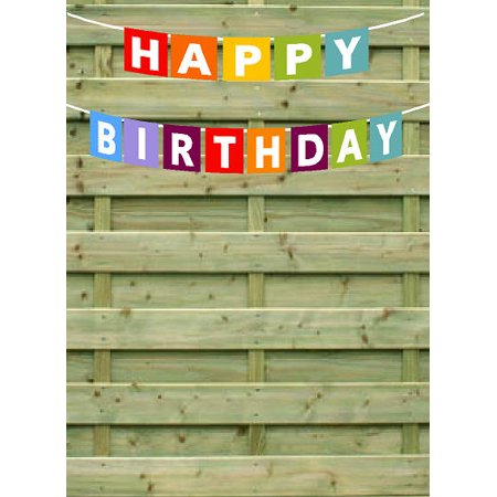 Happy Birthday Rainbow Paper Garland Bunting Party Decoration Banner - Happy Birthday Garland