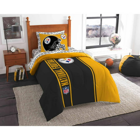 NFL Pittsburgh Steelers Soft and Cozy Bedding Comforter Set by