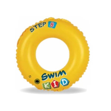 "Walmart Seller Central >> 20"" Yellow Swim Kid ""Step B"" Inflatable Swimming Pool Ring Inner Tube for Kids 3-6 Years ..."