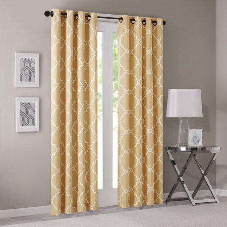 Saratoga Single Light - Saratoga Single Window Curtain - Grey - 84