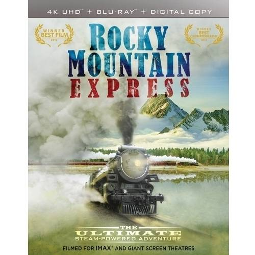 IMAX: Rocky Mountain Express (4K UltraHD + Blu-ray + Digital HD)