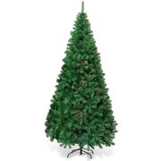 7ft Green Artificial PVC Christmas Tree Indoor Outdoor Stand