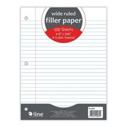 Wide Ruled Filler Paper by C-Line